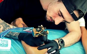Tetování na vlastní návrh a motiv + možnost individuální přípravy návrhu tetování, Praha