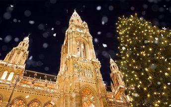 Zájezd do adventní Vídně s prohlídkou města pro 1 osobu