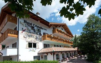 Itálie - Val di Fassa e Carezza na 11 dní, polopenze s dopravou vlastní