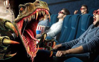 Vstupenka do unikátního 12D kina na film dle výběru