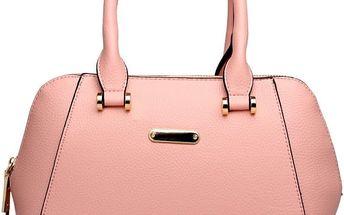 Dámská růžová kabelka Galaxy 1627