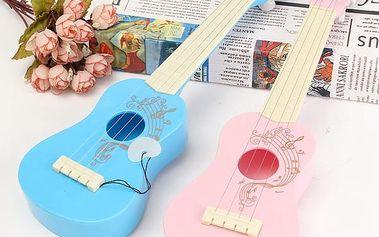 Dětská hudební hračka - ukulele