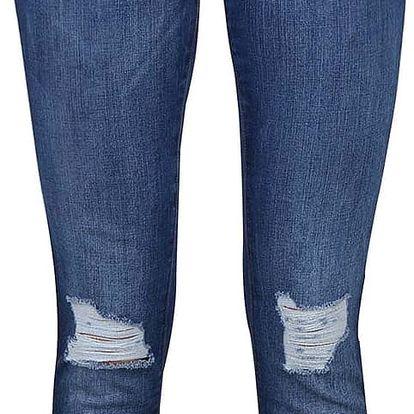 Modré džíny s odřenými koleny Noisy May Lucy