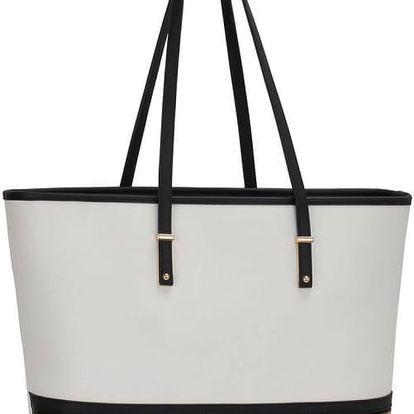 Dámská černobílá kabelka Vaillet 460