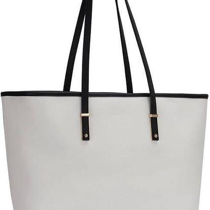 Dámská černobílá kabelka Porney 461