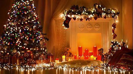 LED svítidla na vánoční stromeček s doručením zdarma