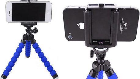 Flexibilní držák na mobil pro snadné fotografování