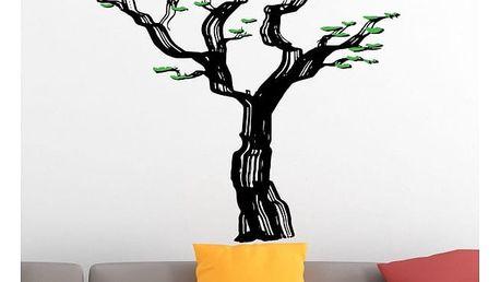 Samolepka na zeď - Rozeklaný strom