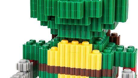 Mini skládačka Želva Ninja Rafaelo