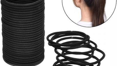 Balení gumiček do vlasů - 40 kusů - poštovné zdarma