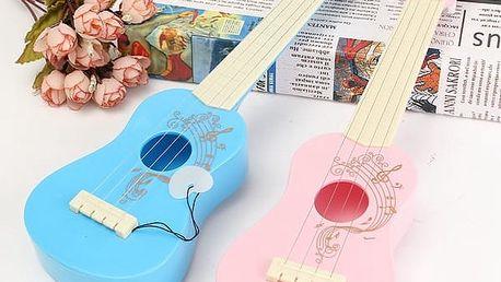 Dětská hudební hračka - ukulele - poštovné zdarma