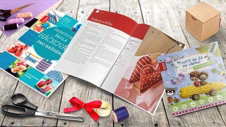 Zábavné tvoření s knihami pro malé i velké