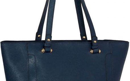 Dámská námořnicky modrá kabelka Delire 497