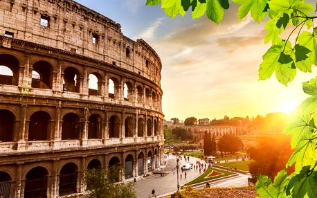 Řím – věčné město, s přenocováním, Řím, Itálie, autobusem, snídaně v ceně