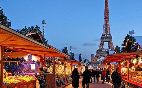 Výlet do kouzelné předvánoční Paříže na 3 dny pro JEDNOHO