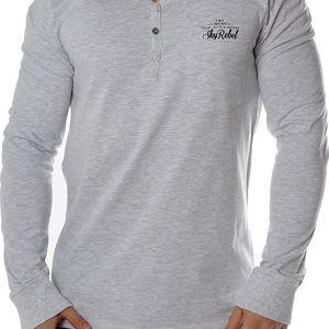 Pánské tričko s dlouhými rukávy Sky Rebel vel. M