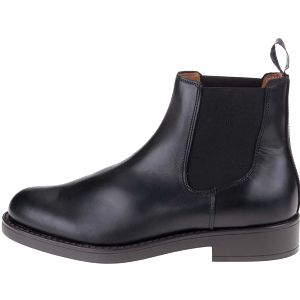 Černé pánské kožené chelsea boty GANT Oscar