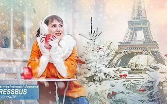Adventní Paříž, zájezd na 3 dny pro 1 osobu včetně průvodce z Prahy i Brna, 9-11.12.2016