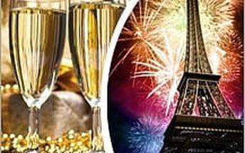 SILVESTR v Paříži s ubytováním a sektem do páru! Užijte si romantické atmosféry Paříže s příchodem dalšího roku!