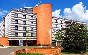 2 nebo 3denní pobyt pro 2–3 osoby se snídaněmi v hotelu Expo**** v Praze