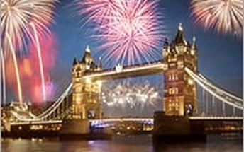 Silvestr v Londýně s ubytováním, snídaní a velkolepým ohňostrojem 2016! Přivítejte další rok s grácií!