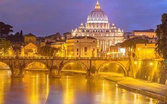 Řím, Vatikán a Florencie s ubytovaním a snídaní