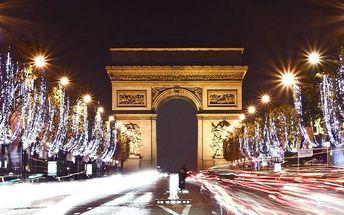 Adventní kouzelná Paříž a Versailles na 1 noc