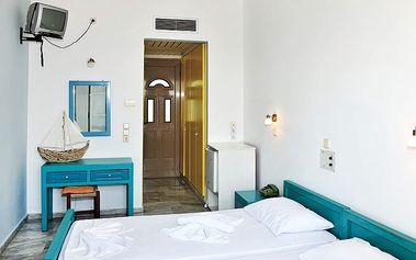 Hotel Mykali, Řecko, Samos, 8 dní, Letecky, Polopenze, Alespoň 2 ★★, sleva 24 %, bonus (Levné parkování u letiště: 8 dní 499,- | 12 dní 749,- | 16 dní 899,- )