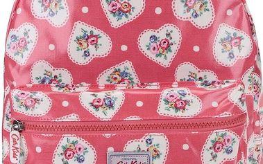 Červený dětský batoh se srdíčky Cath Kidston