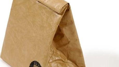 Svačinová taška Luckies of London Brown Paper Bag