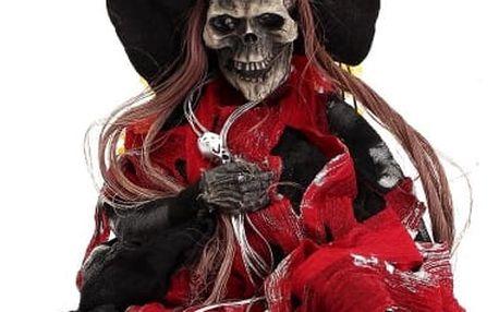 Děsivá postavička čarodějnice - 63 cm - poštovné zdarma