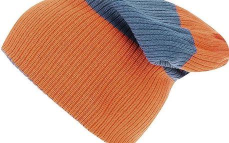 Oranžovo-modrá pánská oboustranná čepice Rip Curl Fjord