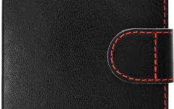 Pouzdro na mobil flipové FIXED FIT pro Huawei Y3 II (FIXRP-FIT097-BK) černé