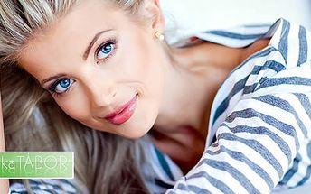 Omlazující lifting obličeje s možností ošetření podbradku špičkovými lékařskými přístroji