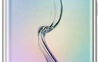 Kryt na mobil Samsung pro Galaxy S6 Edge (EF-QG925B) (EF-QG925BFEGWW) zlatý