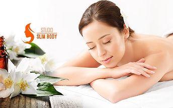 Klasická nebo aroma masáž dle výběru v délce 30 či 60 minut i permanentka na 5 masáží