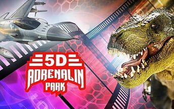 Vstupenky do 5D kina v Plzni pro 1 nebo 2 osoby na 1 nebo 2 filmy