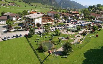 Rakousko - Tyrolsko na 11 dní, polopenze s dopravou vlastní