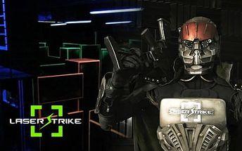 Laser Game v nové aréně Laser Strike přímo v OC Černý Most