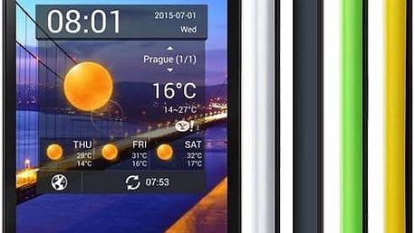 Mobilní telefon iGET BLACKVIEW ZETA (84000105) černý/žlutý/zelený