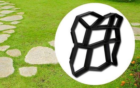 Forma na betonový chodník