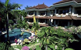 Bali - Sanur na 10 až 15 dní, snídaně s dopravou letecky z Prahy