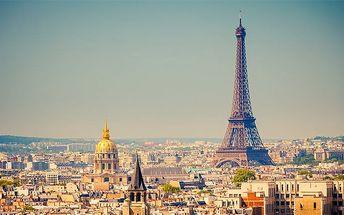 3denní zájezd do Paříže s možností adventu či silvestra pro 1 osobu
