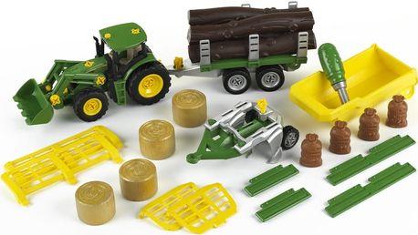 John Deere Traktor se sklápěčkou