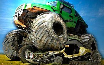 30 minut řízení super Monster Trucku akce!