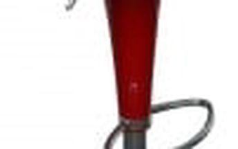 Barová židle CL-1213 RED (červená) - 1 kus