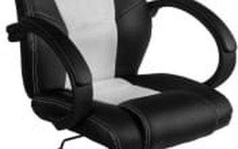 Otočná kancelářská židle bílá MX Racer OEM M09505