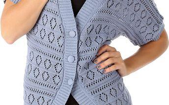 Dámský svetr s krátkým rukávem Cache Cache vel. XL
