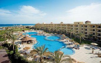 AMWAJ BLUE BEACH, Egypt, Hurghada, 8 dní, Letecky, All inclusive, Alespoň 4 ★★★★, sleva 57 %, bonus (Levné parkování u letiště: 8 dní 499,- | 12 dní 749,- | 16 dní 899,- )