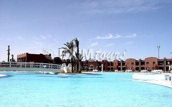 MAGAWISH SWISS INN RESORT, Egypt, Hurghada, 8 dní, Letecky, All inclusive, Alespoň 3 ★★★, sleva 59 %, bonus (Levné parkování u letiště: 8 dní 499,- | 12 dní 749,- | 16 dní 899,- )